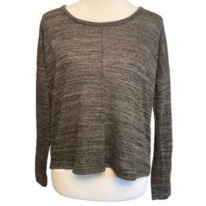 Old Navy Heather Charcoal Gray Long Sleeve Small